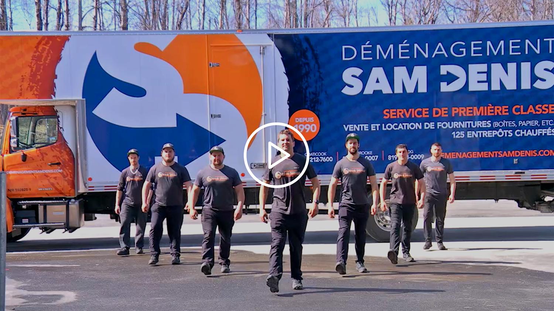 Déménagement Sam Denis - Déménagement local ou longue distance partout au canada sans tracas!