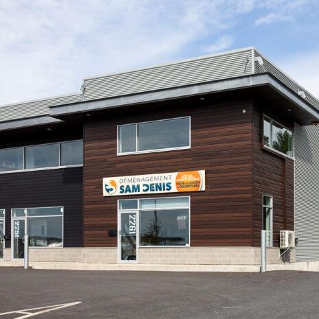 Nouveaux bureaux de Déménagement Sam Denis - Chef de file dans l'industrie du déménagement dans la région de l'Estrie