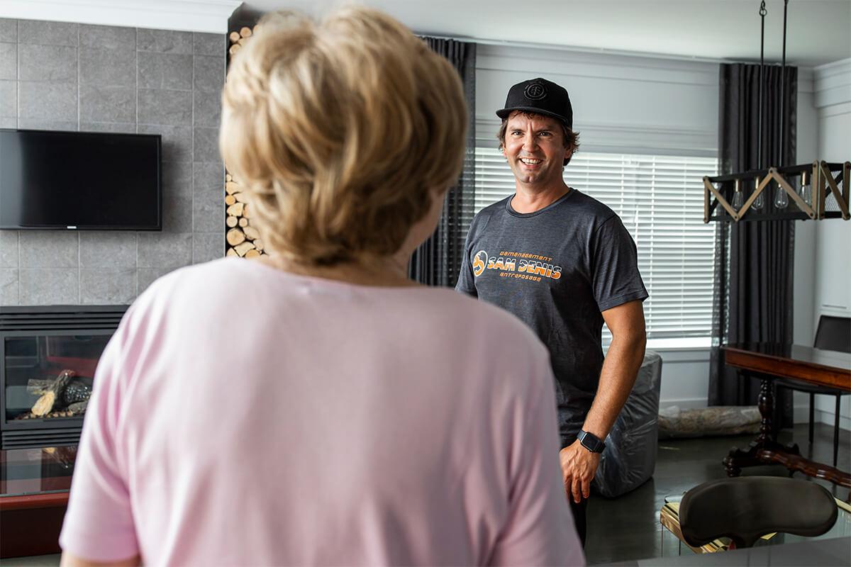 Déménagement résidentiel - Déménagement Sam Denis - Chef de file dans l'industrie du déménagement dans la région de l'Estrie