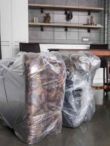 Emballage des meubles - Déménagement Sam Denis - Chef de file dans l'industrie du déménagement dans la région de l'Estrie