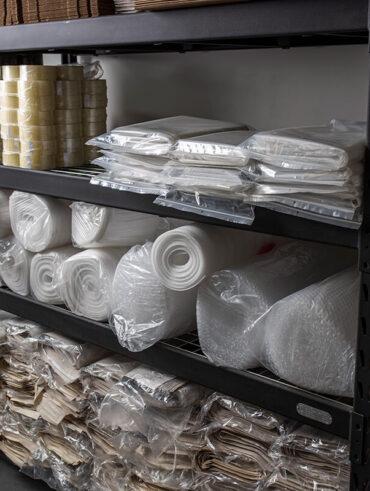 Vente de papiers bulles, Papier Kraft, papier mousse et autres fournitures - Déménagement Sam Denis - Chef de file dans l'industrie du déménagement dans la région de l'Estrie